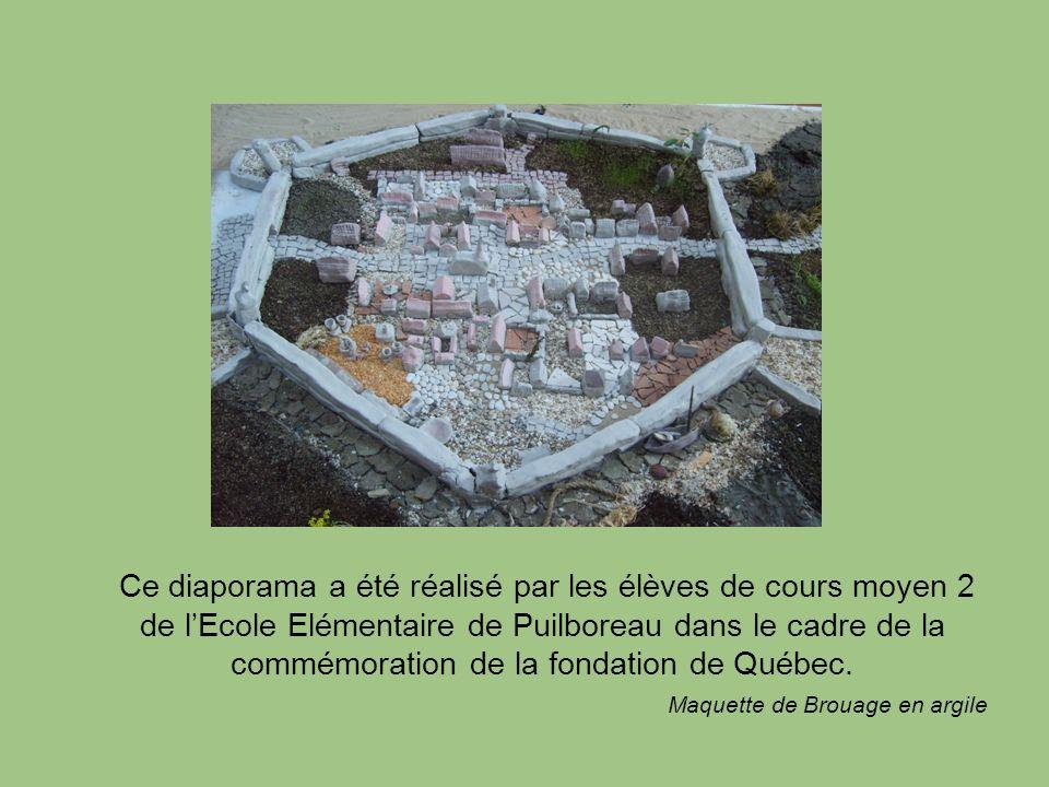 Ce diaporama a été réalisé par les élèves de cours moyen 2 de lEcole Elémentaire de Puilboreau dans le cadre de la commémoration de la fondation de Qu