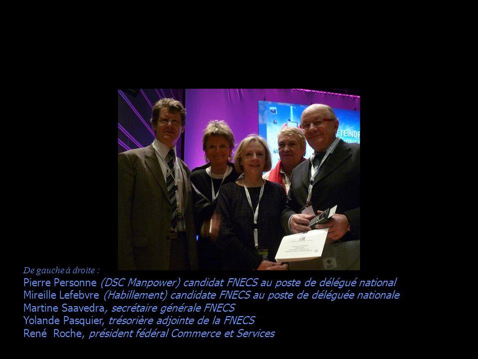Jean Paré (président du SNECS/FNECS) Martine Saavedra (secrétaire générale de la FNECS) René Roche (président de la FNECS, notre cher « chef de tribu