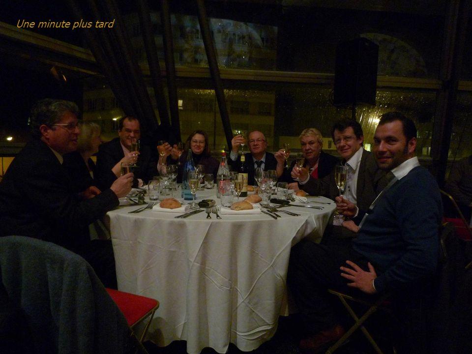 Dans le sens de la montre : Virginie Brouillard, Jean Paré, Martine Saavedra, Jean-François Lécuyer, Laurence Cianfarra, René Roche, Yolande Pasquier,
