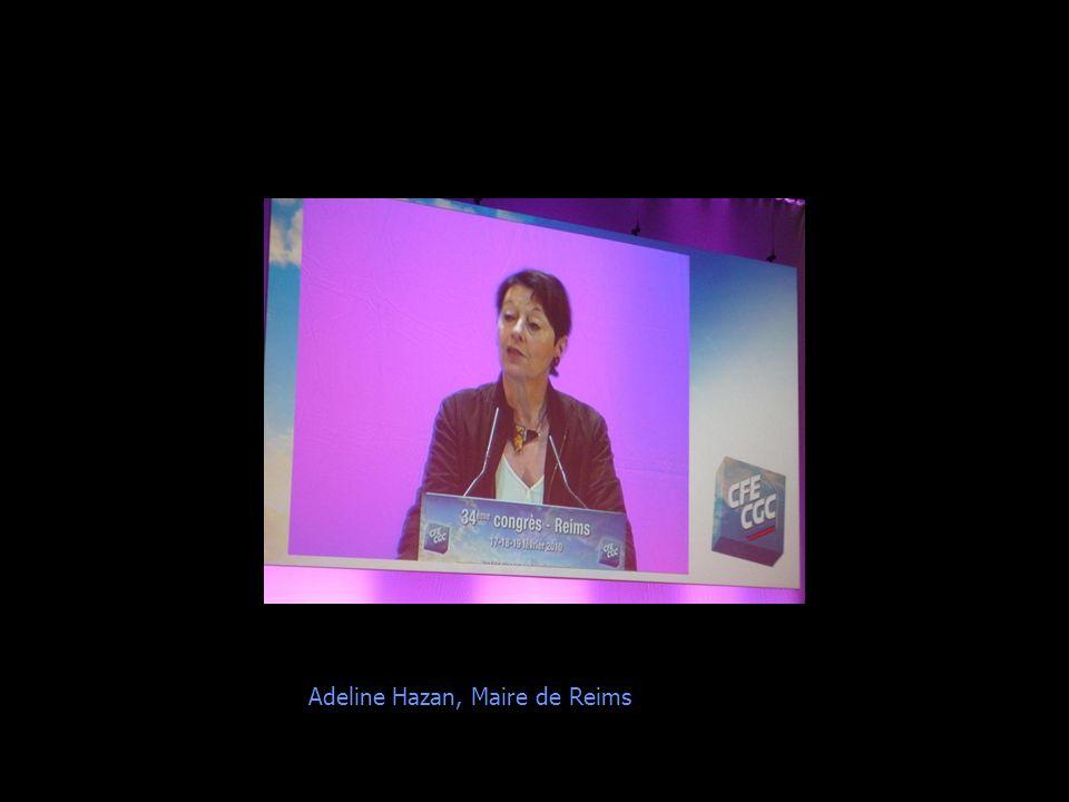 Adeline Hazan, Maire de Reims