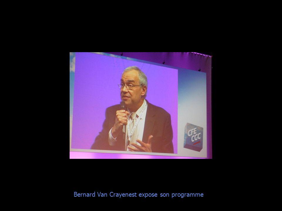 Bernard Van Crayenest expose son programme