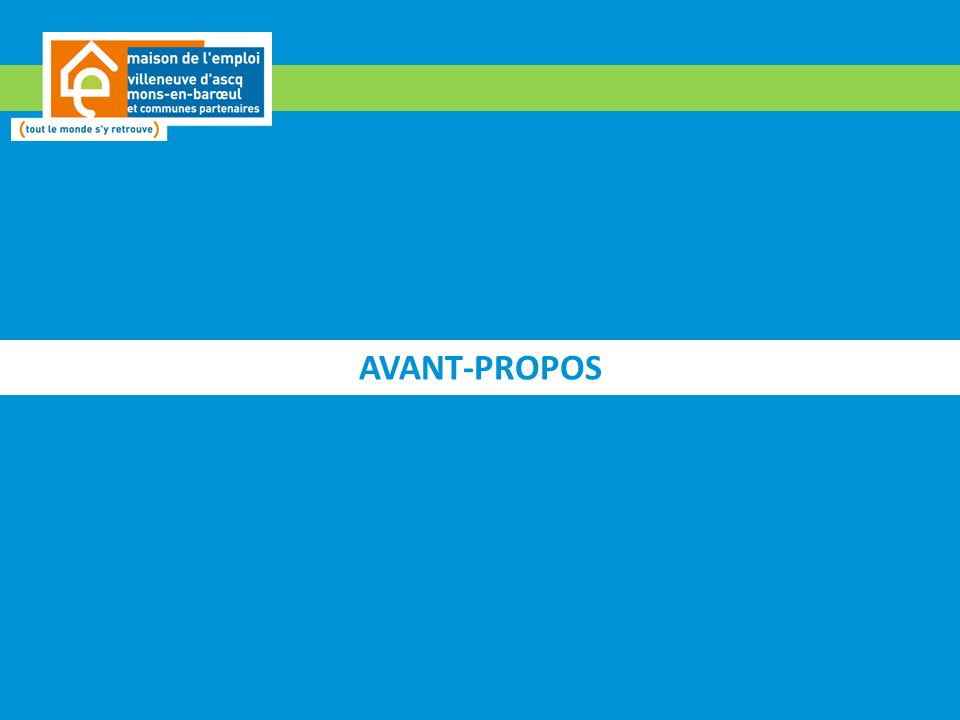 AVANT-PROPOS