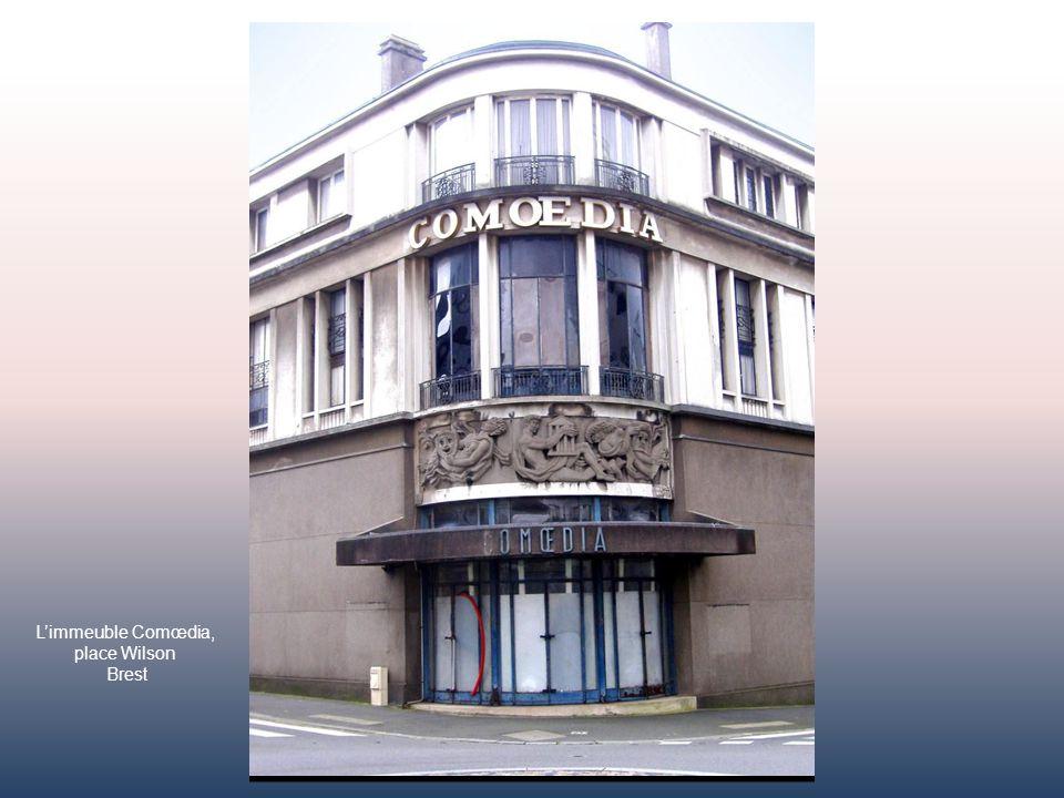Lex-palais du Commerce – Immeuble caractéristique de lArt-déco brestois