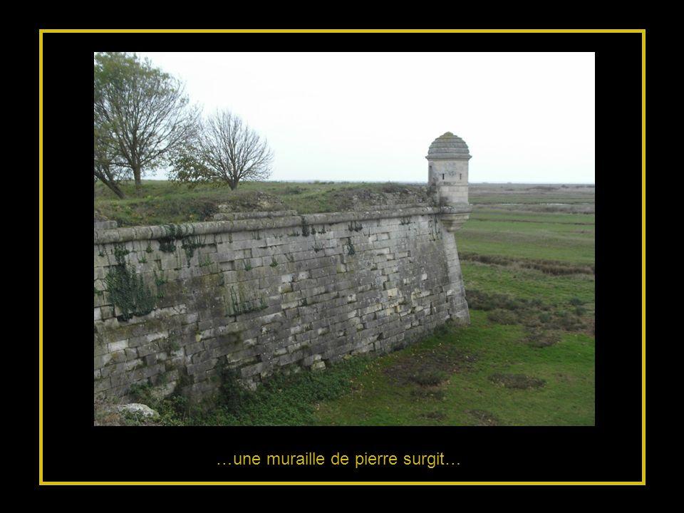 …une muraille de pierre surgit…