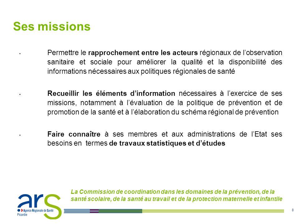 9 La Commission de coordination dans les domaines des prises en charge et des accompagnements médico-sociaux