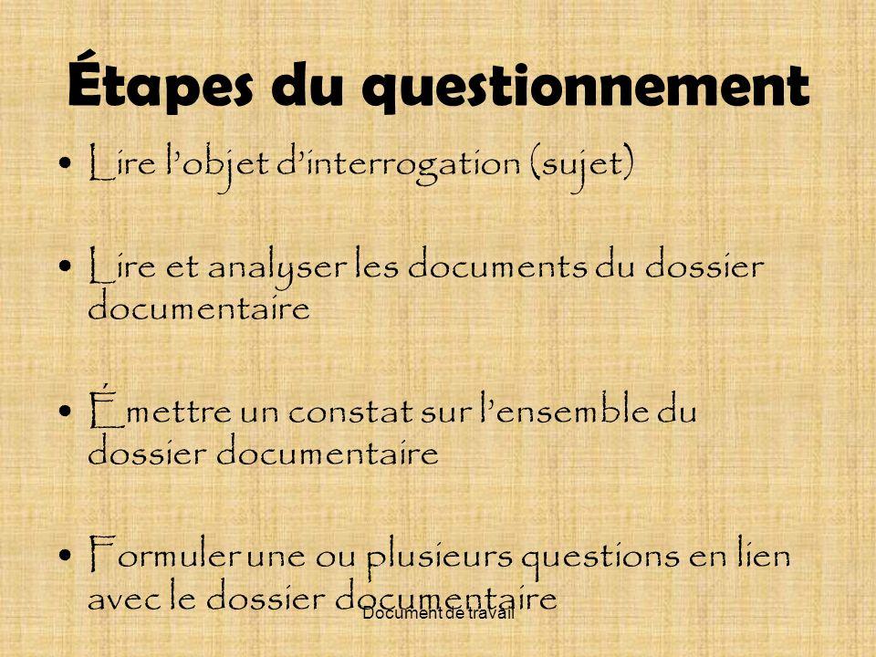 Document de travail La dualité des institutions publiques, aujourdhui, au Québec