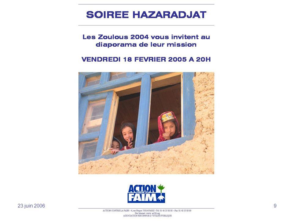 23 juin 2006 Sensibilisation et mobilisation -JFL 9