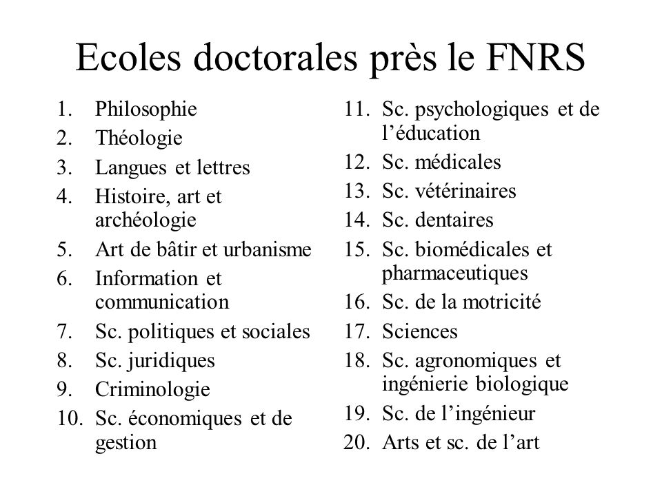 DomaineDoctorats/anDomaineDoctorats/an Sc.religieuses4,8Sc.