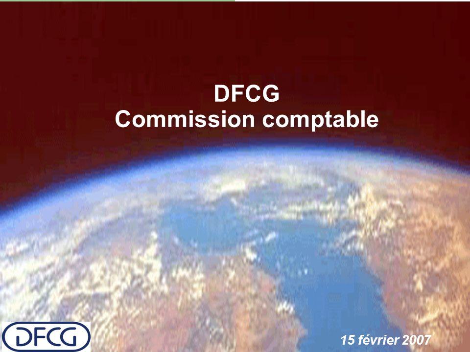 DFCG Commission comptable 15 février 2007