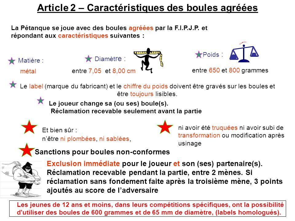 Article 37 – Manque de sportivité Cette exclusion peut entraîner la non-homologation des résultats éventuellement obtenus, ainsi que lapplication des sanctions, prévues à larticle 37.