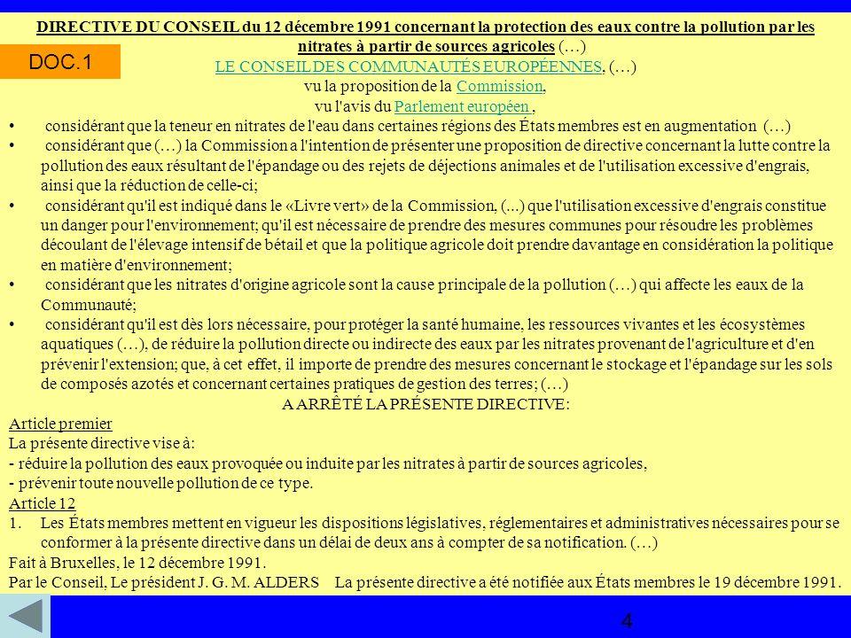 Environnement : la France à l amende .