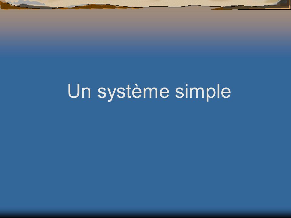Un système simple