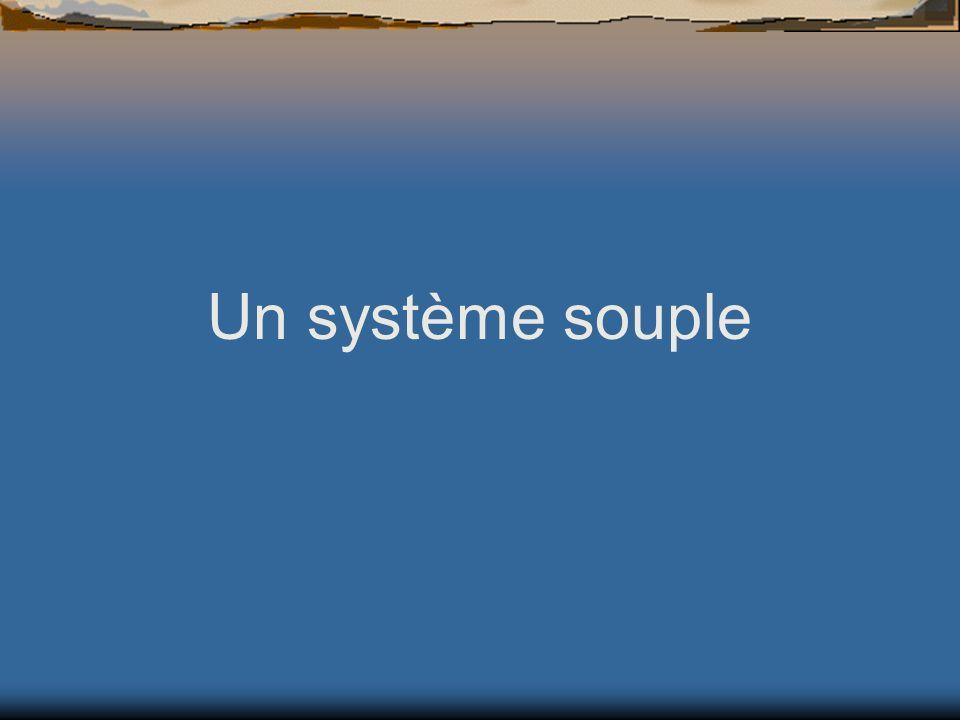 Un système souple