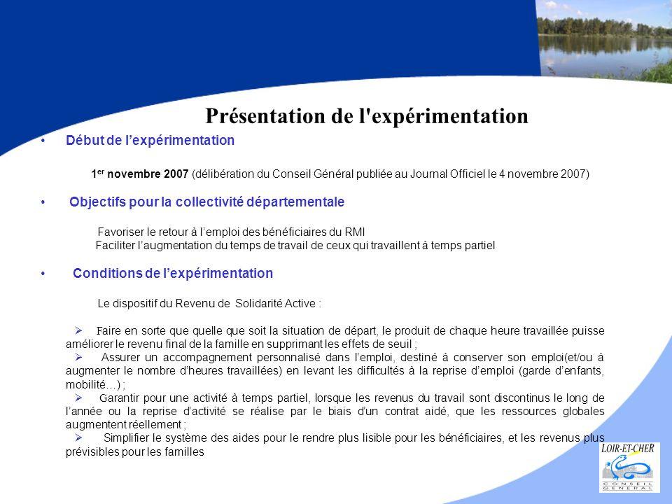 Début de lexpérimentation 1 er novembre 2007 (délibération du Conseil Général publiée au Journal Officiel le 4 novembre 2007) Objectifs pour la collec