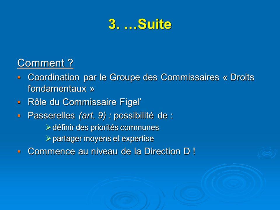 3. …Suite Comment .