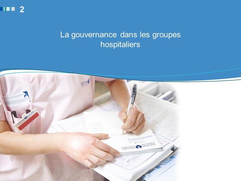 La gouvernance dans les groupes hospitaliers 2