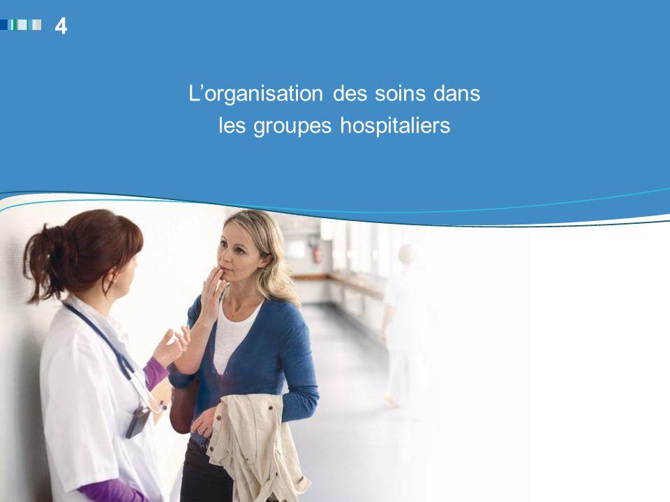 Lorganisation des soins dans les groupes hospitaliers 4