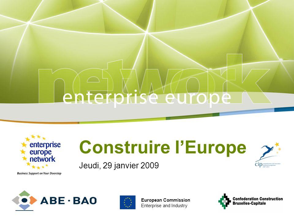 Enterprise Europe Brussels Agence Bruxelloise pour lEntreprise Tour & Taxis Av.