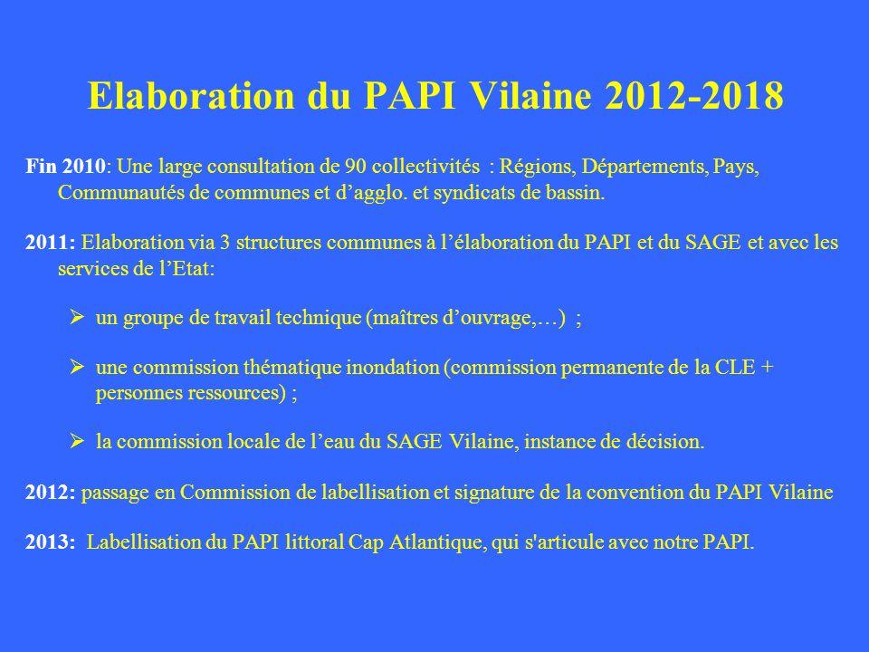 Fin 2010: Une large consultation de 90 collectivités : Régions, Départements, Pays, Communautés de communes et dagglo. et syndicats de bassin. 2011: E