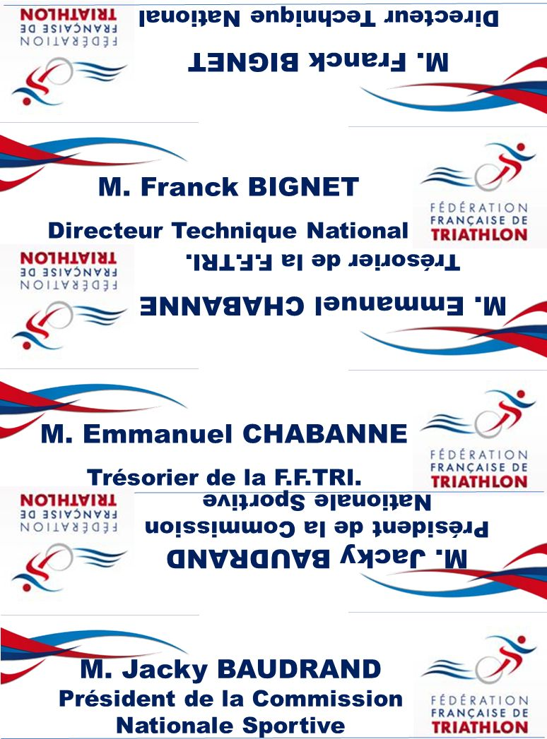 M.Franck BIGNET Directeur Technique National M. Franck BIGNET Directeur Technique National M.
