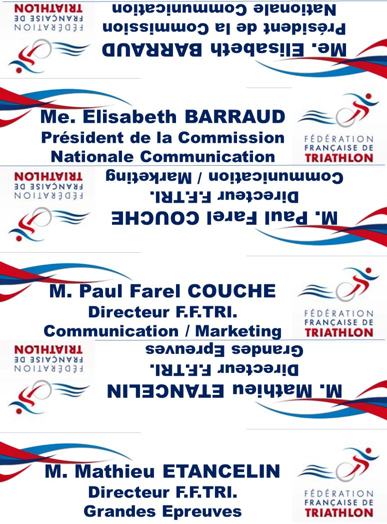 Me.Elisabeth BARRAUD Président de la Commission Nationale Communication Me.