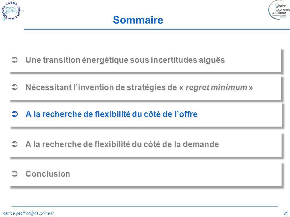 patrice.geoffron@dauphine.fr 22 Le gaz: un ressource assez largement répartie