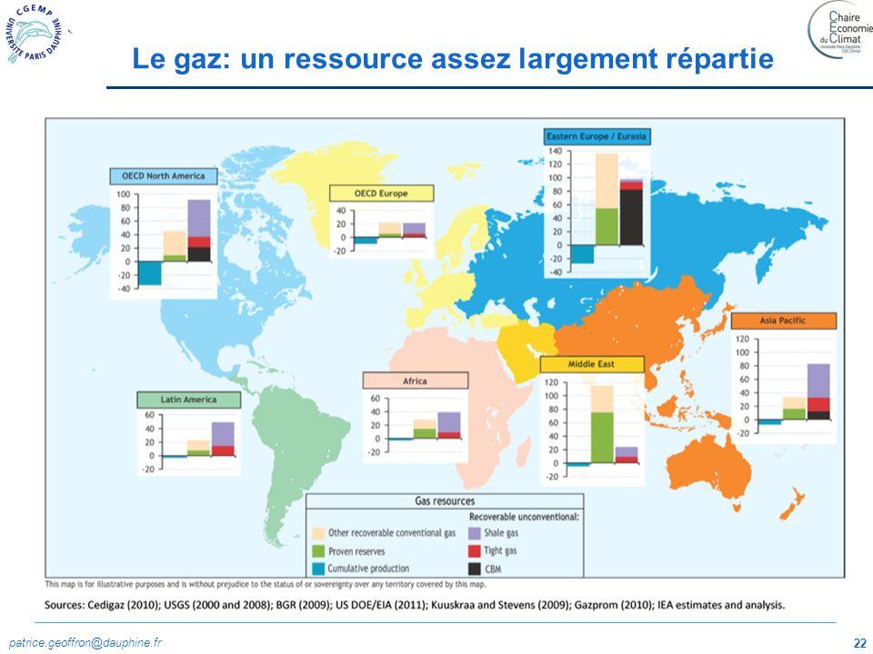patrice.geoffron@dauphine.fr 23 Source: BP Statistical Review World Energy 2011 Une allocation facilitée par la liquéfaction