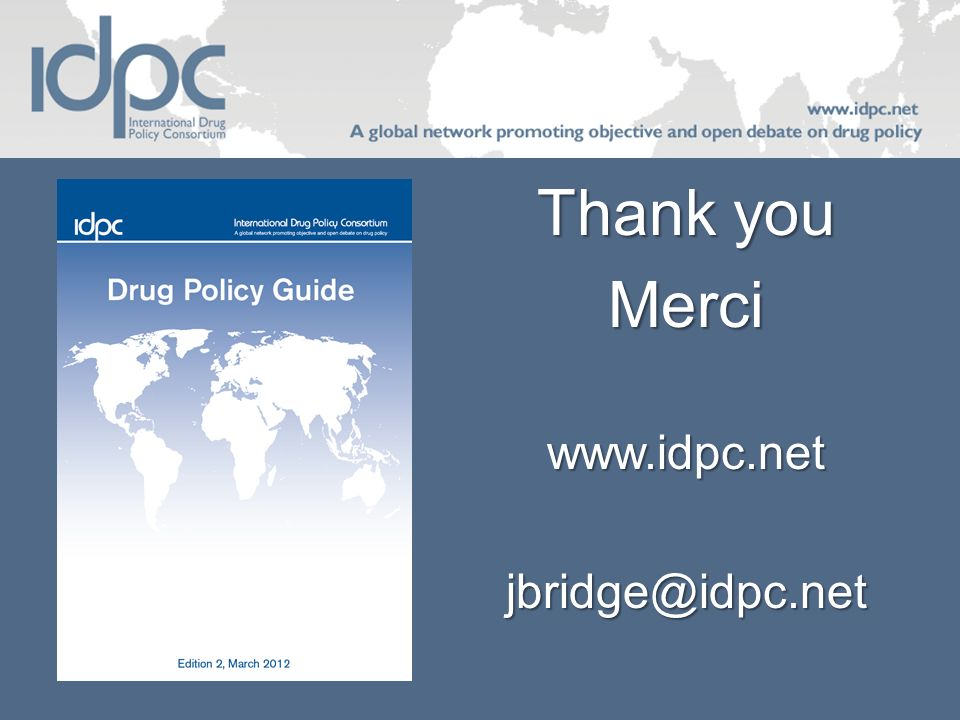 Thank you Merciwww.idpc.netjbridge@idpc.net