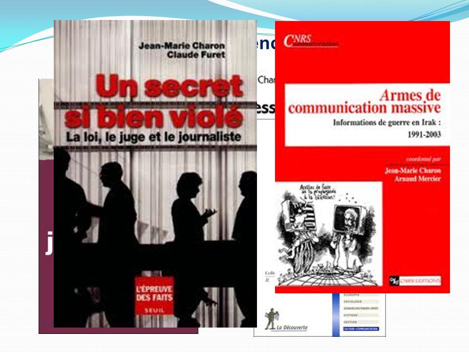 Le conférencier. Sociologue spécialiste des médias, journaliste lui-même, Jean-Marie Charon a occupé de nombreuses fonctions dans la recherche, la pre