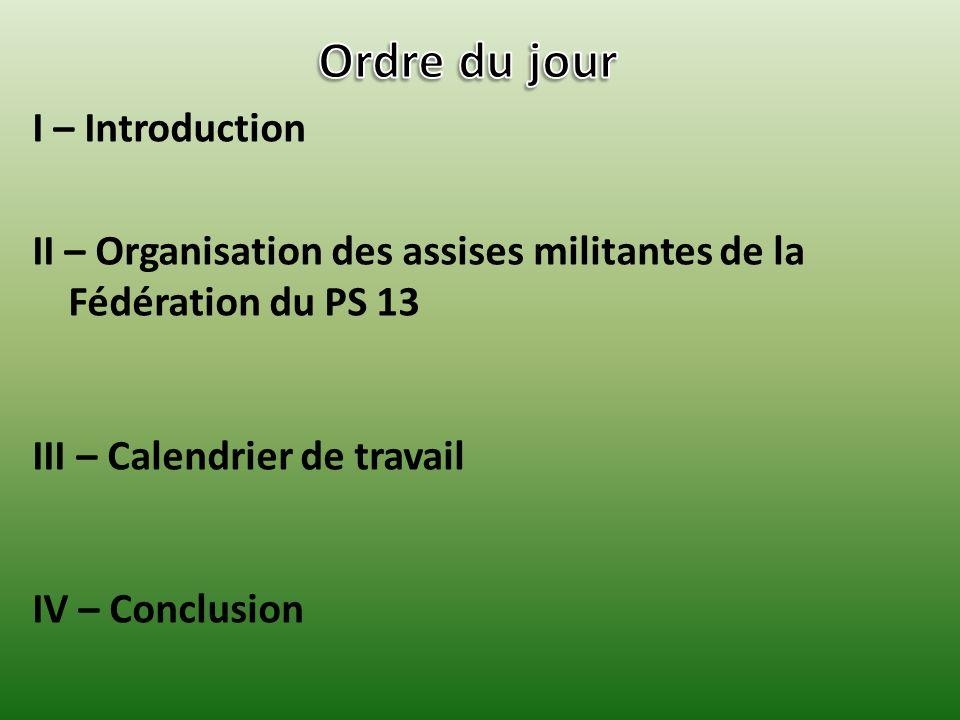 I – Introduction Jennifer MICHELANGELI remercie chaleureusement Monsieur Patrick CHINI pour avoir organisé la tenue de la réunion à Salon de Provence, dans le cadre de la décentralisation des réunions de la commission.