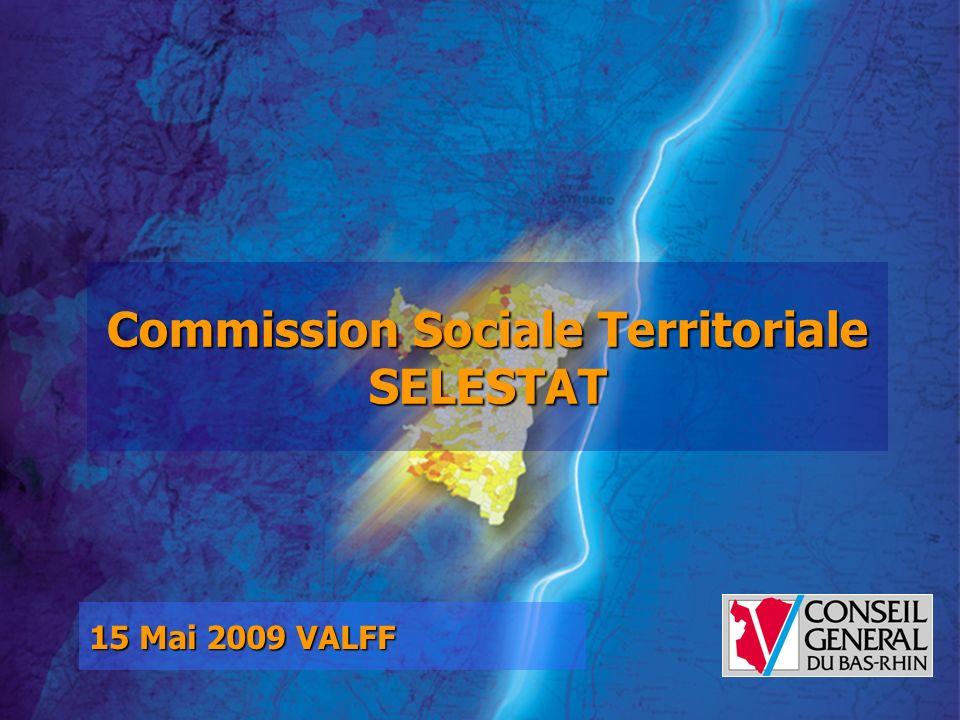 15 Mai 2009 VALFF Commission Sociale Territoriale SELESTAT