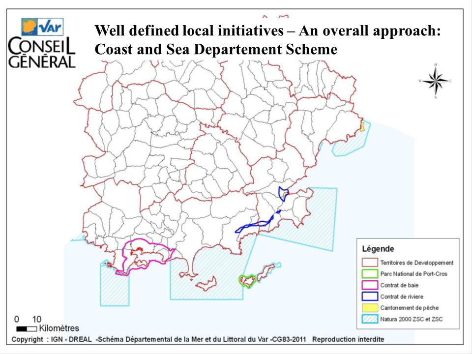 Well defined local initiatives – An overall approach: Coast and Sea Departement Scheme