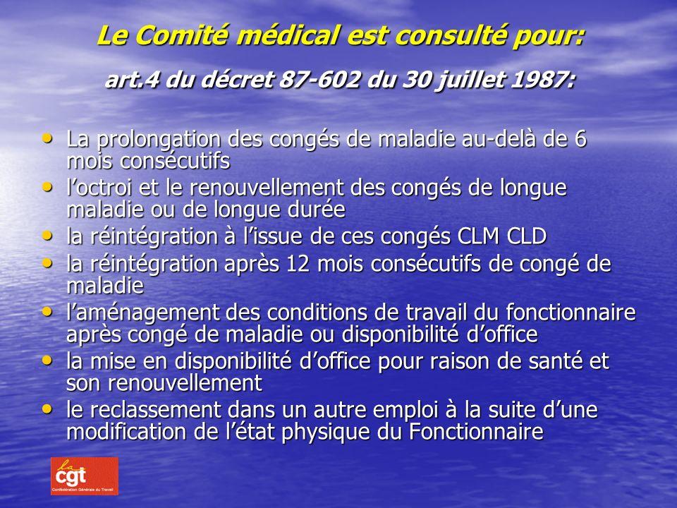 SA COMPOSITION : 2 praticiens de médecine générale et pour les cas relevant de sa compétence 2 praticiens de médecine générale et pour les cas relevan