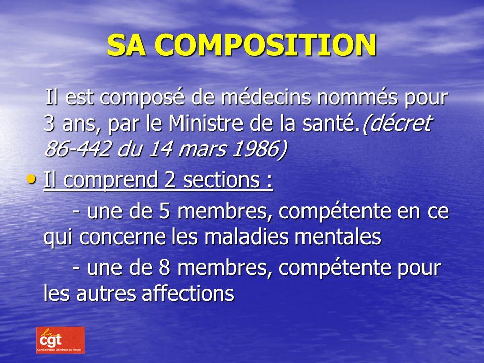 LE COMITE MEDICAL SUPERIEUR Son siège se situe à PARIS, Son siège se situe à PARIS, 14 rue Duquesne 75 350 - 07 SP 14 rue Duquesne 75 350 - 07 SP Cest