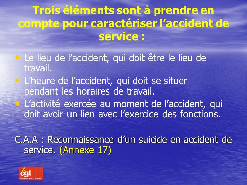 L accident de trajet, domicile /travail ne sera reconnu imputable au service que si le parcours nait pas été détourné ou interrompu pour un motif dict