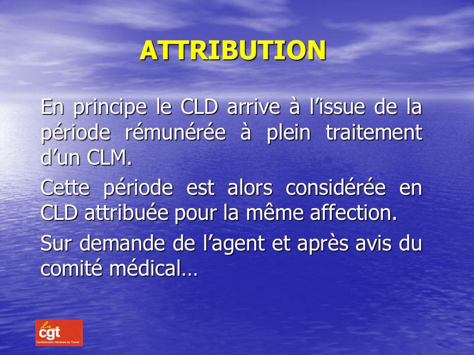 DEFINITION Un fonctionnaire en activité a droit à un congé de longue durée si il est atteint de : – Tuberculose – Maladie mentale – Cancer – Poliomyél