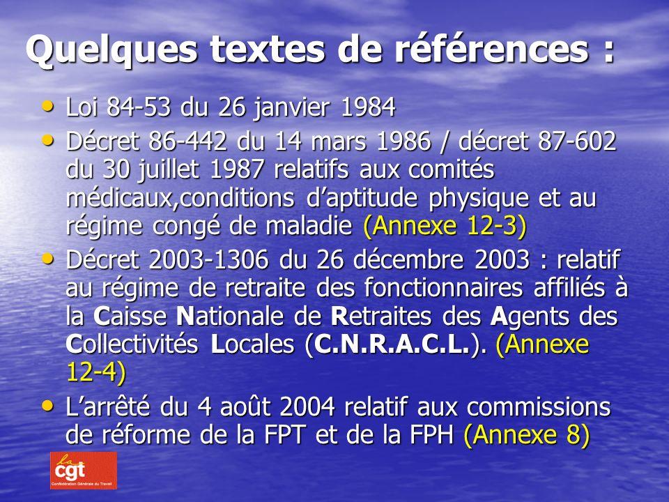 Allocation temporaire dinvalidité (A.T.I) Décret N° 2005-442 du 2 mai 2005.
