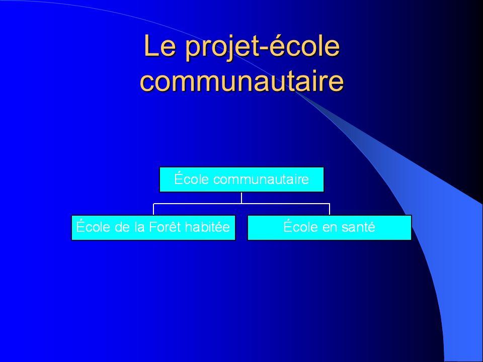 Le projet-école communautaire