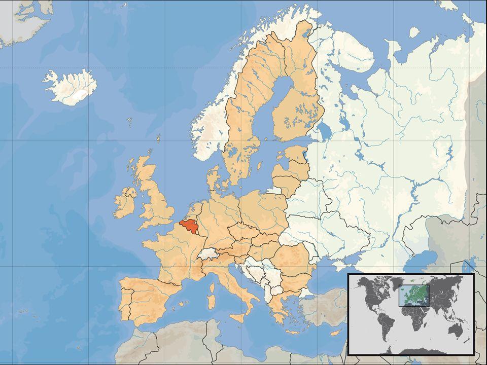 3 Caractéristiques principales de la Belgique (1) Population: 10,5 millions dhabitants 57% de Néerlandophones 40% de Francophones 3% de Germanophones et autres La Belgique est un des membres fondateurs de lUnion européenne et de lUnion monétaire européenne Bruxelles en est la capitale et regroupe en même temps les sièges de lUnion européenne, de lOTAN et de beaucoup dautres organisations internationales