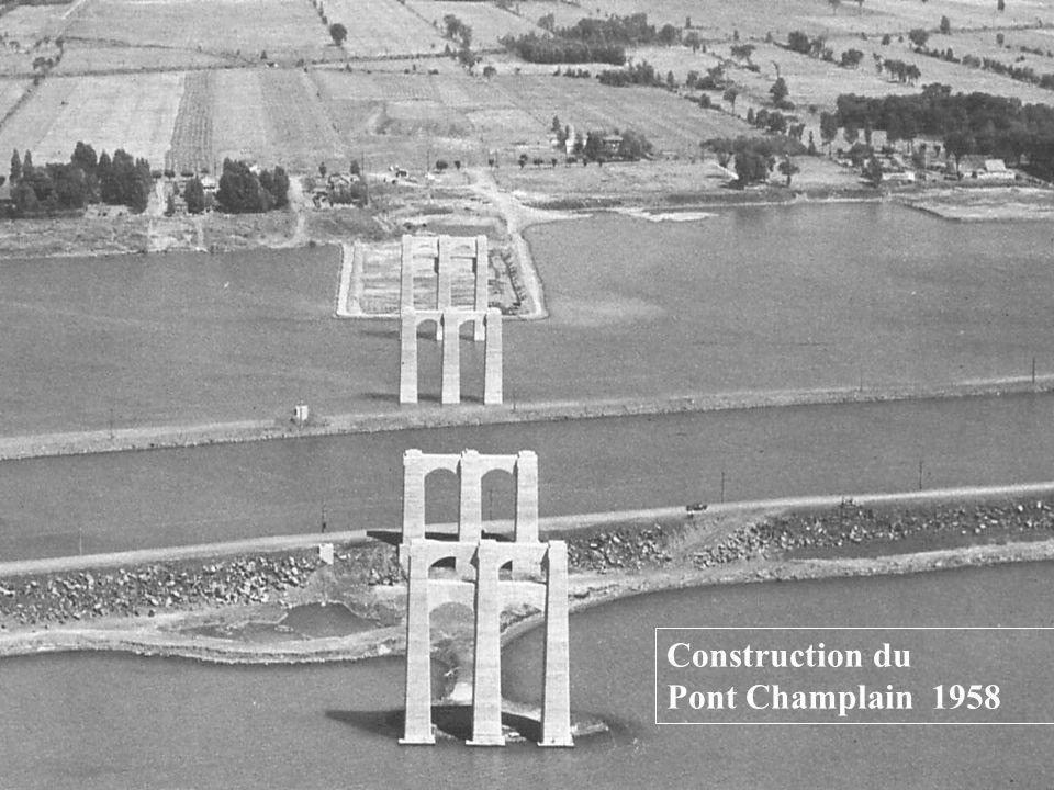 Les raffineries dans lest en 1957