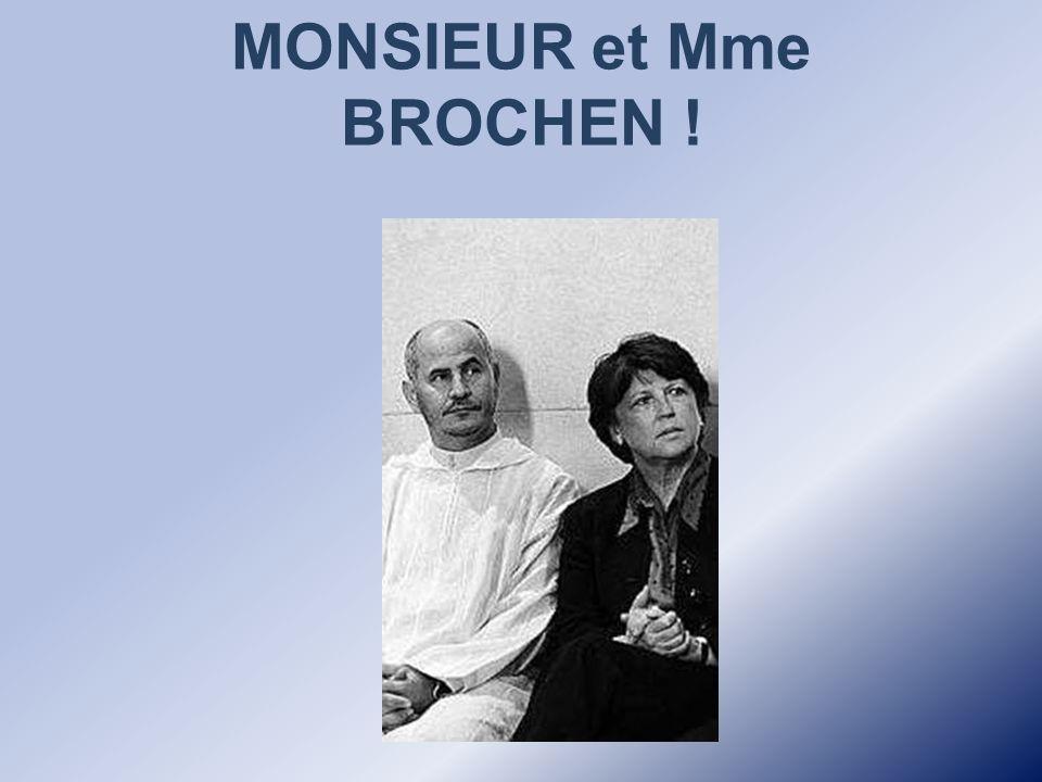 épouse en seconde noce l'avocat lillois Jean-Louis Brochen, salafiste et avocat musulman.>.Mais on ne nous dit …. pas tout ! Le 20 mars 2004, Martine