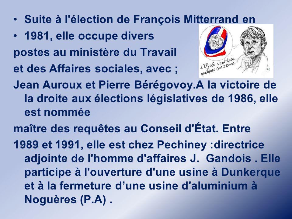 Elle est la fille de Jacques Delors, ministre socialiste des Finances de 1981 à 1985, puis président de la Commission européenne de 1985 à 1995, et de