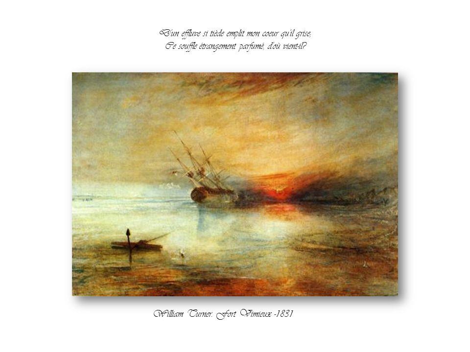 Et pourtant je ne sais quel arome subtil Exhalé de la mer jusqu'à moi par la brise, Le Canal de la Giudecca et le Zattere. Vers 1758: