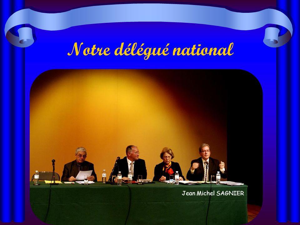 Notre délégué régional Pierre RIBOULET