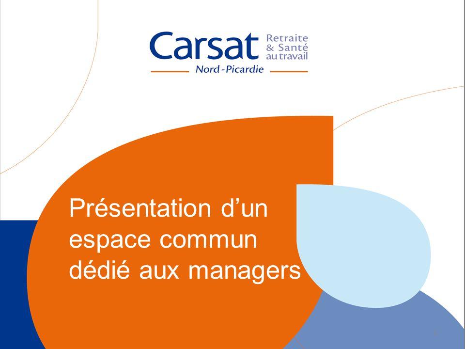 Présentation dun espace commun dédié aux managers 1