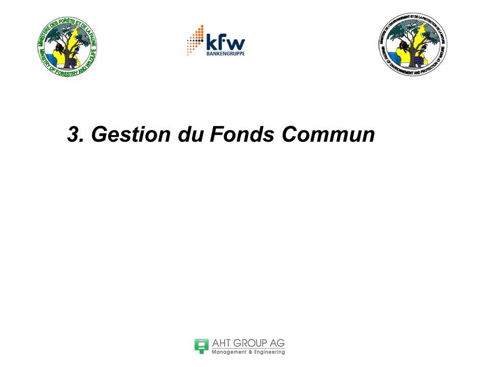 3. Gestion du Fonds Commun