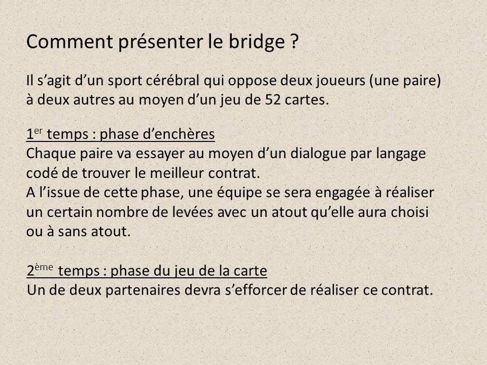 Mais le bridge développe encore bien dautres compétences que celles décrites dans le socle commun.