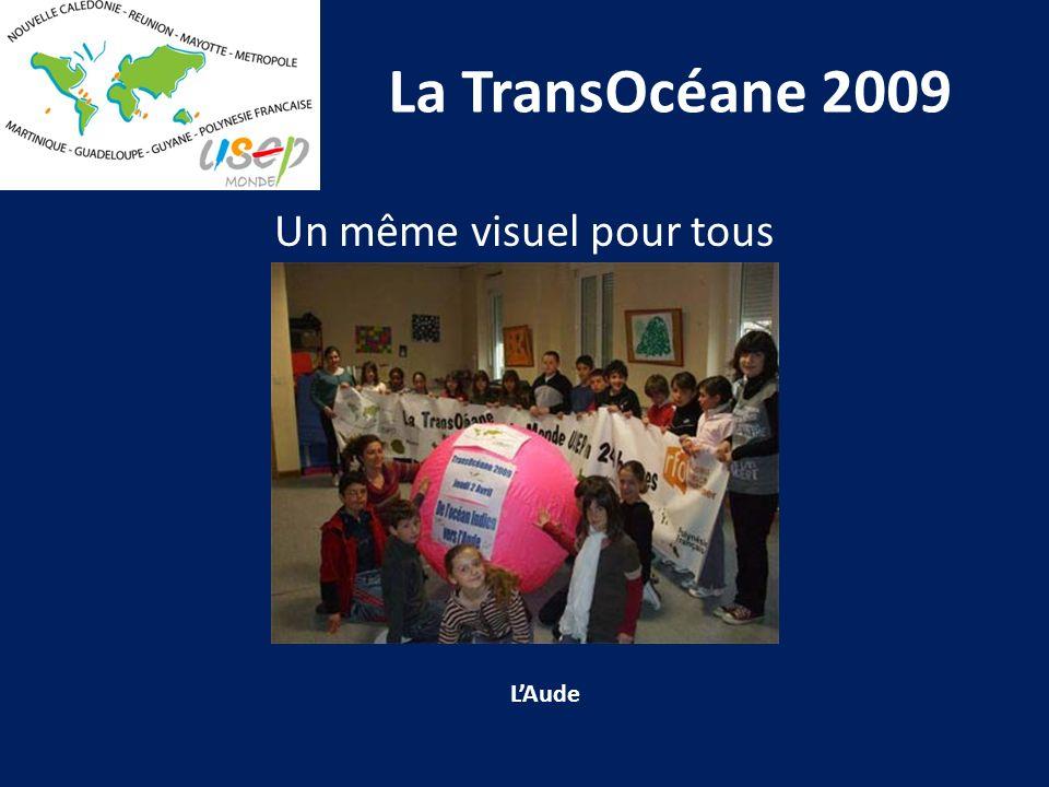 La TransOcéane 2009 Un même visuel pour tous LAude