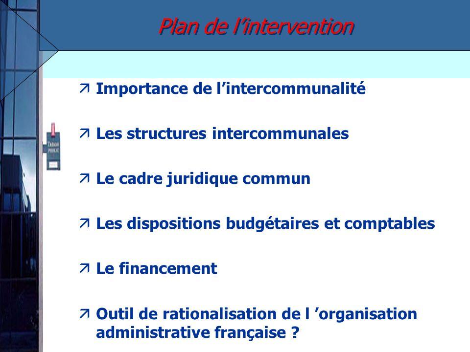 äRegroupements existants : 20 500 –Syndicats : 18 000 –Structures à fiscalité propre : 2 588 äPopulation –91% des communes sont membres d un EPCI à fiscalité propre...
