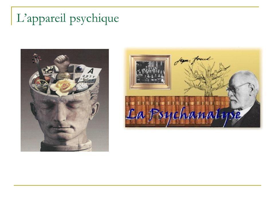 Lappareil psychique